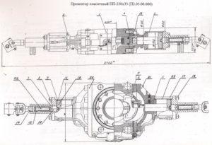 Превентор Плашечный ППГ230х35